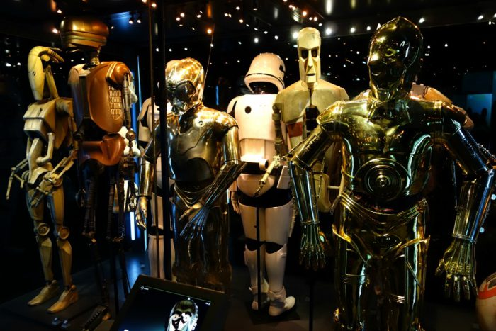 See R2D2 and C3PO