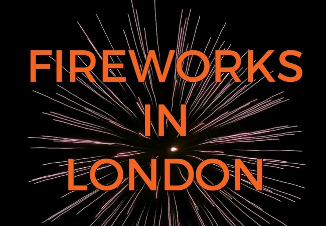 Where to Watch Fireworks in London?