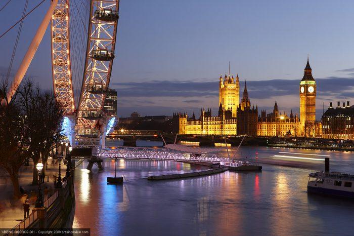 London on Christmas Day