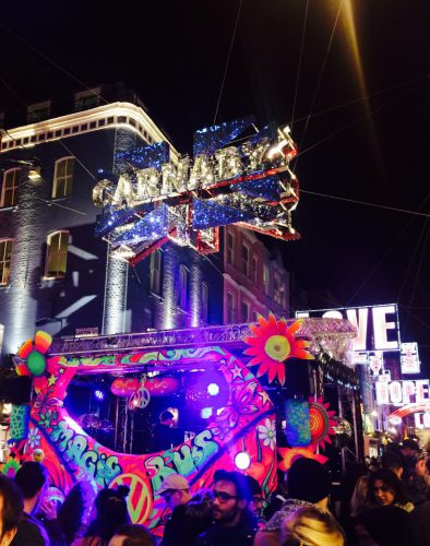 The launch of the Carnaby Street Christmas Lights