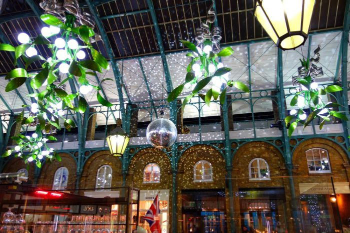Christmas Disco Ball Covent Garden