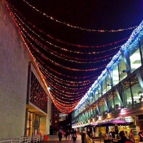 Christmas Lights on Southbank