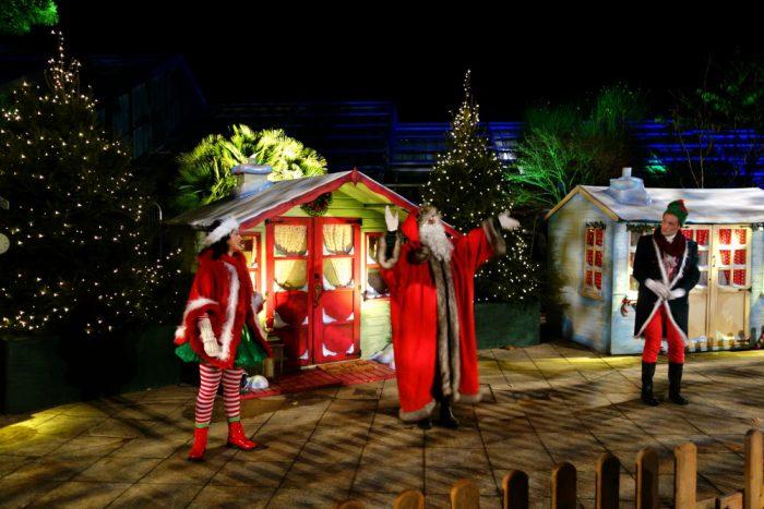 Santa's Grotto at Kew