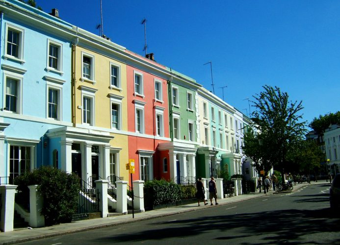 Coming to London and staying in Notting Hill