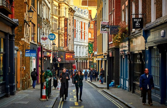 Staying in London's Soho