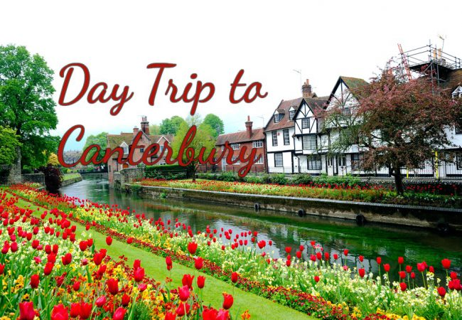 My Trip to Canterbury Cathedral, St Augustine's Abbey & the Canterbury Tales