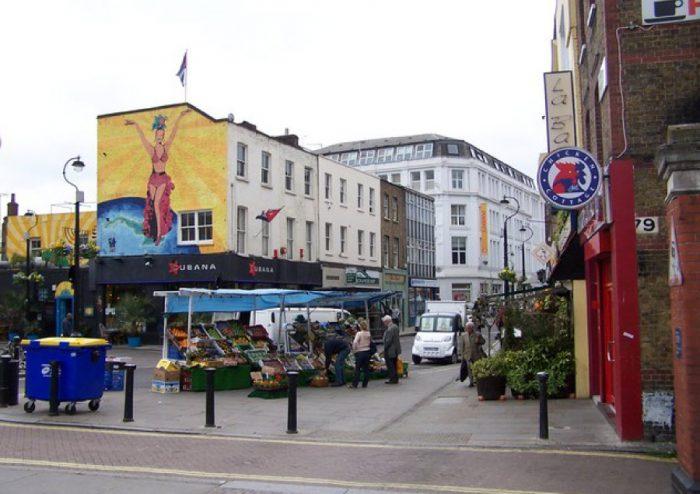 Lower Marsh Street, London