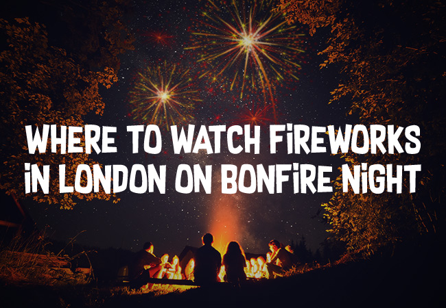 The Best Places to see Fireworks in London on Bonfire Night