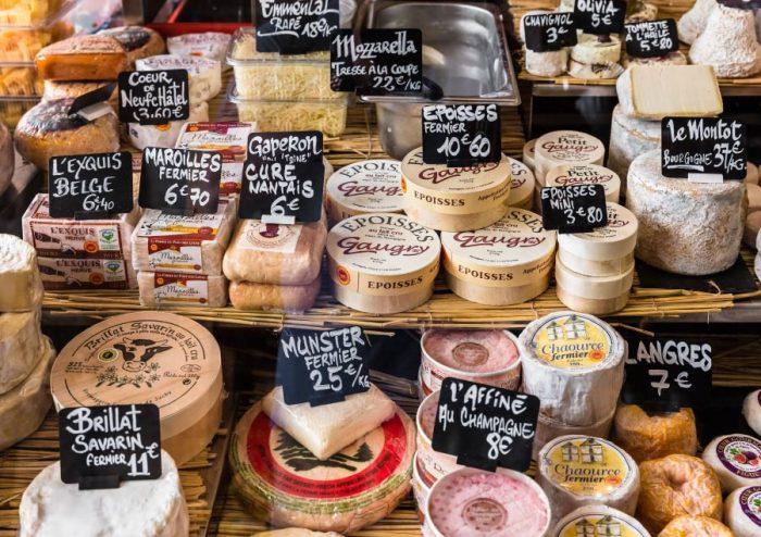 Parisian Cheeses