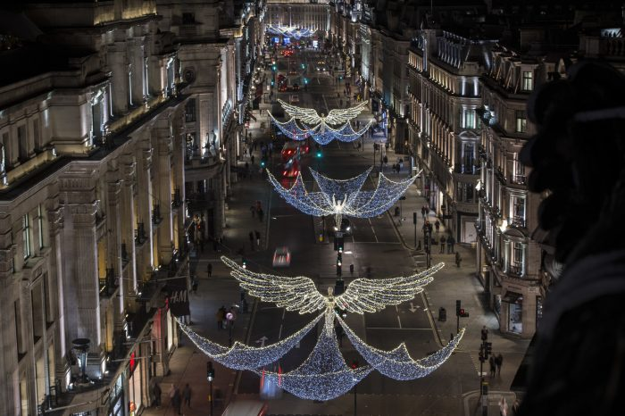 Regent Street Spirit of Christmas Lights