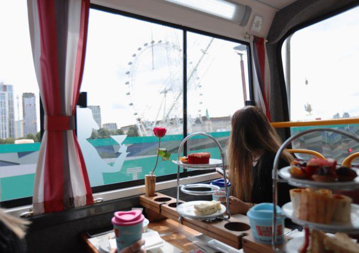 Afternoon tea bus London