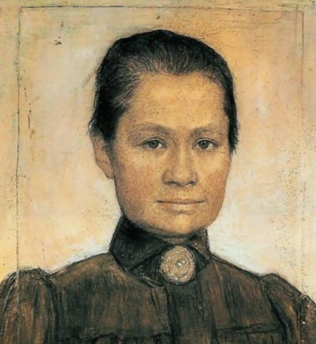 Portrait of Johanna painted by her second husband