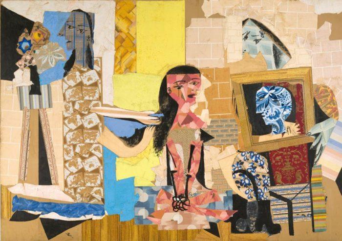 Femme à leur toilette, Picasso