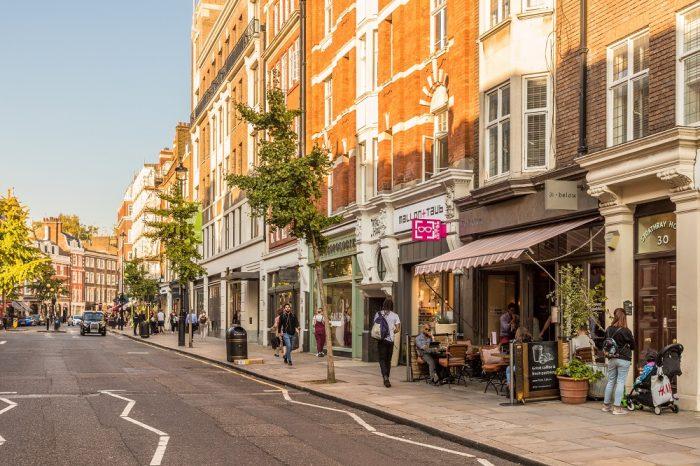 Marylebone High Street, Shutterstock