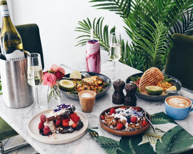 Bottomless brunch at Darcie May and Green