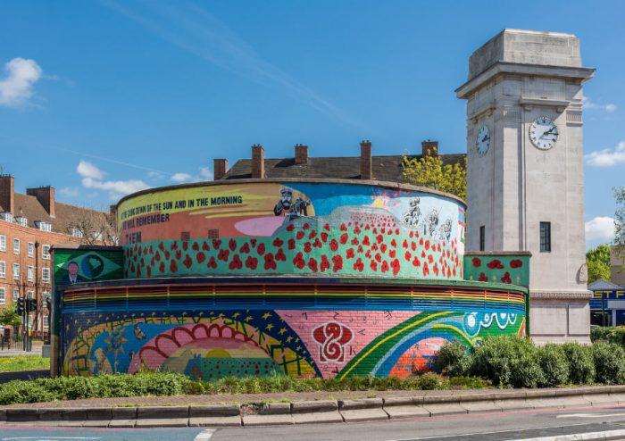 Stockwell Memorial Mural