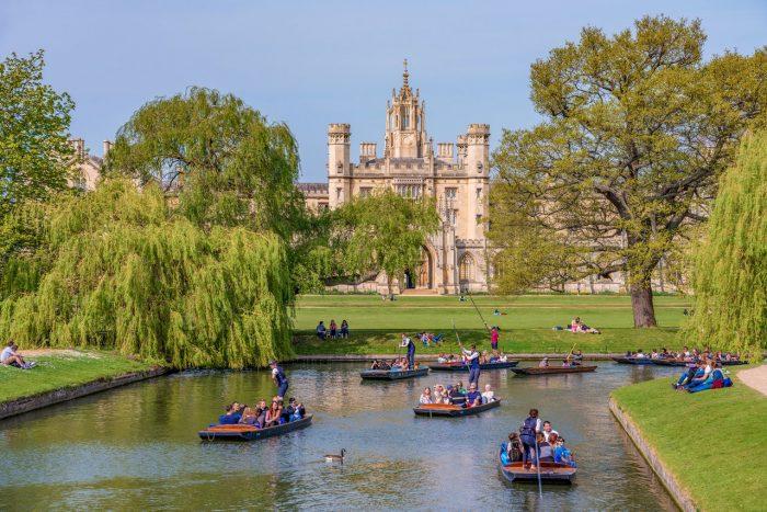 The Backs Cambridge