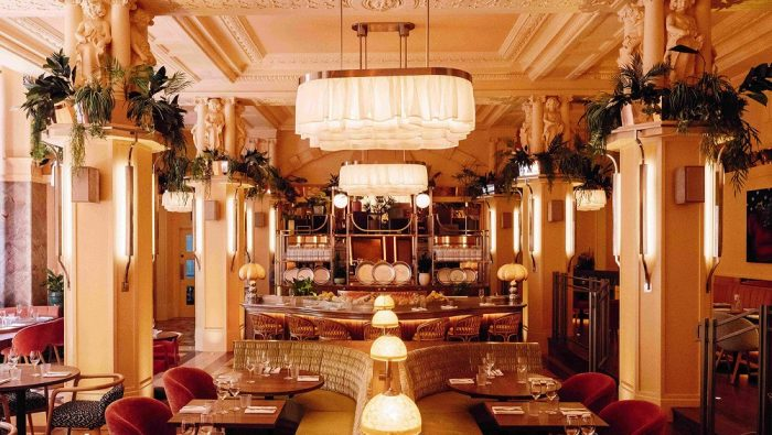 Solo travel London - The Neptune Restaurant at the Kimpton Fitzroy, Russell Square
