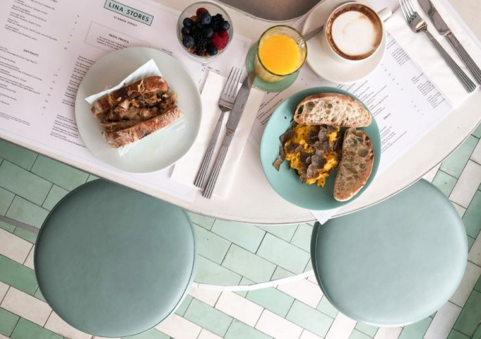 Solo London - Brunch at Lina Stores