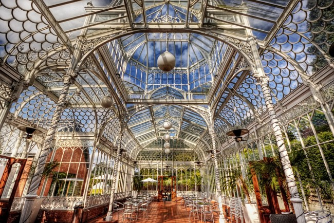 Solo travel London - the conservatory at The Horniman Museum