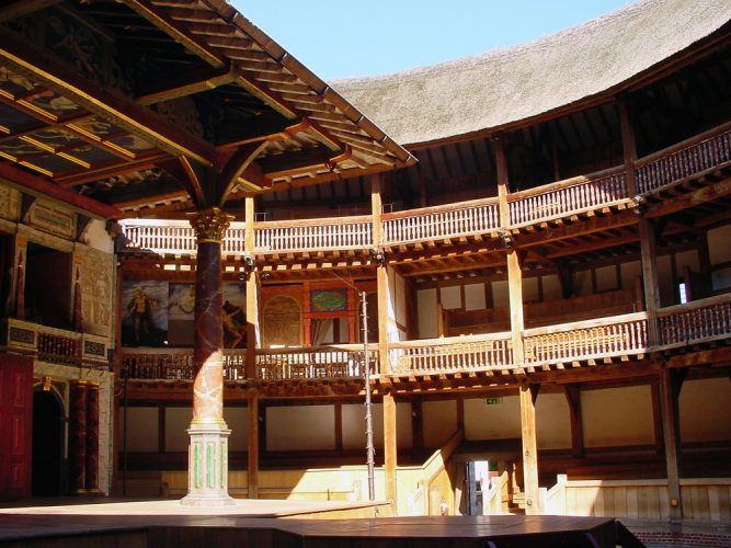 Solo travel London - Shakespeare's Globe on the South Bank
