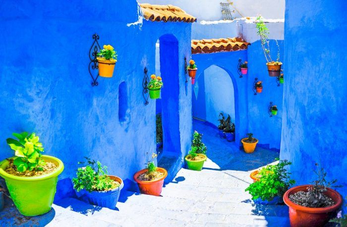 Chefchaouen in Northwest Morocco