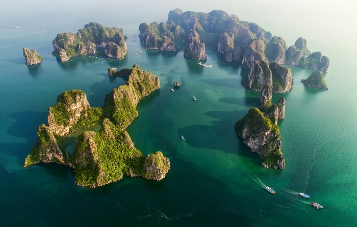 Hạ Long Bay in the Quảng Ninh province of Vietnam