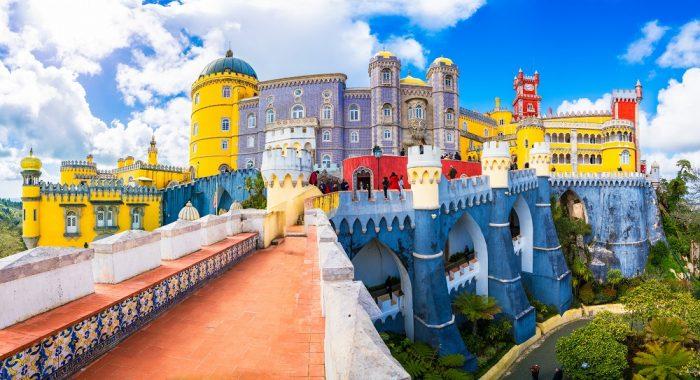 Pena Palace on the Portuguese Riviera