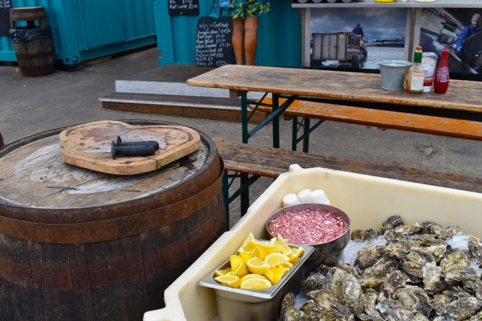 Oysters at Whitstable